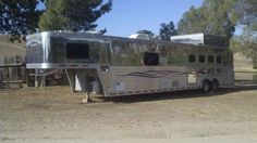 Bloomer Used Horse Trailer Dealer.every cowgirls dream! Stock Trailer, Horse Showing, Farm Lifestyle, Barn Storage, Rodeo Life, Ranch Life, Horse Trailers, Country Farm, Urban Farming