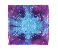 Metatrons Cube · Crystal Grid Cloth · Sacred Geometry · by SacredBatikandDye