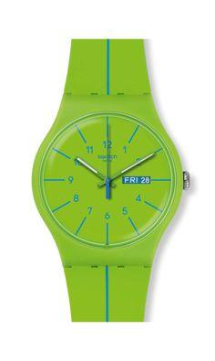 VERDE AZUL Swatch Watch