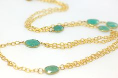 Double this necklace for a layered look!