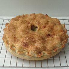 English Gooseberry Pie