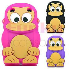 HUMOROUS SOFT ANIMAL FUNKY SILICONE SKIN COVER CASE