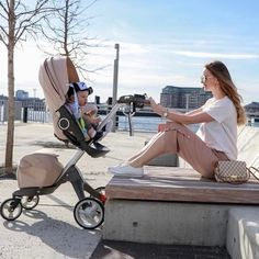 Our Xplory raises your little cutie higher than any stroller on the market, strengthening your relationship & connection as they grow : @vanilace