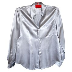 COMME DES GARCONS Grey Synthetic Top