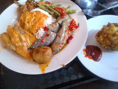 Indonesian food from Minang in Kampong Glam