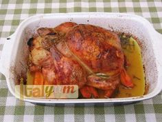 Stuffed roast chicken | Meat Recipes | Italian Recipes. #italiansinsingapore