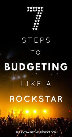 7 Steps to Budgeting Like a Rockstar