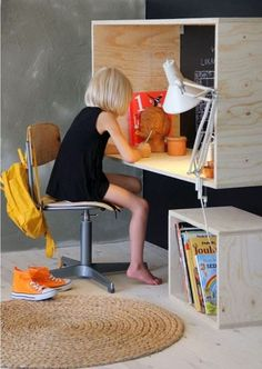 love this...mount it higher with an adjustable chair...and it grows with your child.