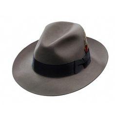 d1d66f975ae Stetson Temple Fur Felt Fedora Hat (6 3 4