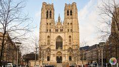 """St. Michael ve St. Gudula Katedrali """"St. Michael ve St. Gudula Katedrali"""" brüksel kiliseleri, brüksel top10, brükselde gezilecek yerler https://jogwag.com/?p=3679"""