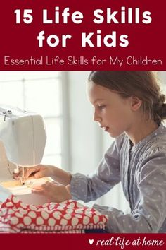 15 Important Life Skills: An Essential List of Life Skills for Kids Not sure what skills your children may need before they're grown? Here are 15 groupings of life skill in a list of life skills for kids to work toward. This post includes questions to ask Life Skills Kids, Life Skills Lessons, Life Skills Activities, Teaching Life Skills, Lessons For Kids, Learning Activities, Teaching Kids, Skills List, Art Lessons