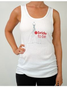 bride to be tank