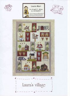 Laura's village pdf pattern