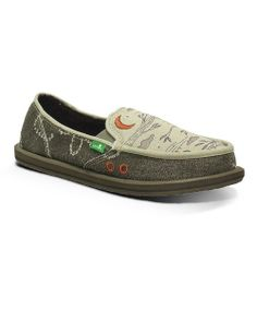 Take a look at the Light Gray Scribble Slip-On Sneaker - Women on #zulily today!