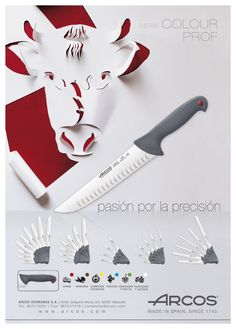 Serie Colour Prof  Passion for Precision  #Knives ARCOS