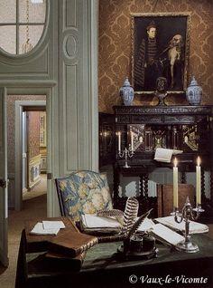 Nicolas Fouquet's brown interior
