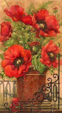 """""""Tuscan Bouquet II"""" / Janet Stever http://www.pinterest.com/pin/278519558179780215/"""