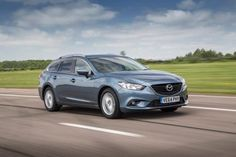 The Mazda 6 Tourer is a spacious, economical and well-made estate that rivals the Ford Mondeo