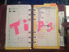 9 Random Tips for Getting More Out of Your Planner