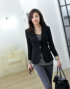 Casual business attire Cool. and just so i realized she looks like my sis. duhhh #Work Outfit ideas #Work Outfit #Perfect Work Attire| http://work-outfits-for-men.lemoncoin.org