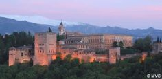 One of the best places of the world is the Alhambra, (Granada, Spain). This red castle makes me feel wonderful!