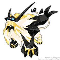 As promised, my artwork of the new Solgaleo/Necrozma form ~ Enjoy!