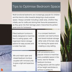 We all know the importance of making the most of your space in your home, and more importantly in your bedroom. One of the most important rooms in the house, it's paramount that every inch of space is optimised to avoid over-cluttering – unless that's your thing! http:// www.keatons.com/access-london/optimising-your-home-space/ #Bedroom #Bedrooms #HomeDecor #Interiors