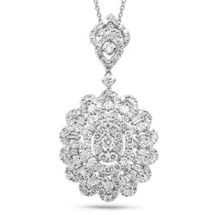 Uniquepedia.com - 2.83ct 18k White Gold Diamond Pendant Necklace, $3,744.00 (http://www.uniquepedia.com/2-83ct-18k-white-gold-diamond-pendant-necklace/)