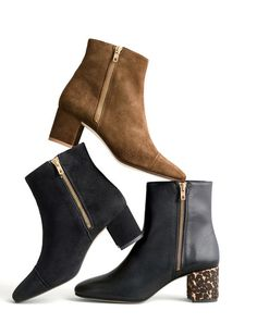 """New boots. Our two favorite words in the English language. Apart from """"free cookies."""" Shop J.Crew women's boots at jcrew.com."""