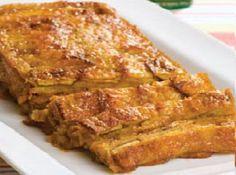 Torta de Plátano (Para 6 personas) - Recetas de Comida Peruana