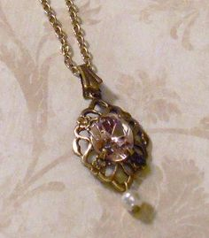 Titanic Jewelry Rose's Deck Strolling Necklace by TitanicJewelry, $24.50