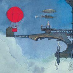 Approaching Taikun's Ship - Journey - Aaron Becker