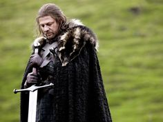 Sean Bean (Eddard Stark)  Never been so shocked by a character's death as I was when I originally read Game of Thrones all those years ago.