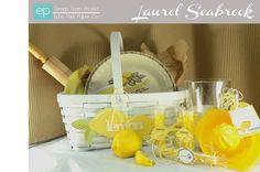 Lemon Basket from Yellow Submarine Mini Theme. #echoparkpaper