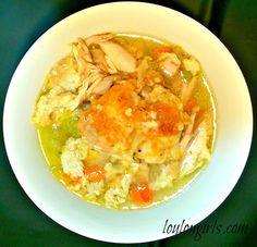 Lou Lou Girls : Chicken & Bread Dumpling Soup