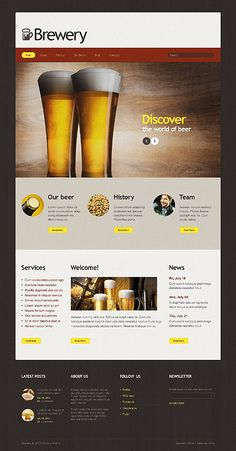 Design chews time... Get Template Espresso! That's Joomla #template // Regular price: $68 // Unique price: $4500 // Sources available: .PSD, .PHP  #Joomla #Tablet #Smartphone #Responsive #Drink #Brewery #Beer