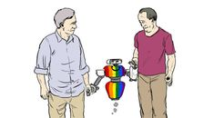Are robots designed to include the queer population?