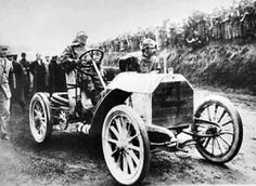 The Gordon Bennett Races 1900. The first international race series in history was the brain child of the eccentric James Gordon Bennett Jr, millionaire owner of the New York Herald.  In 1899, Gordon Bennett offered a trophy to the Automobile Club de France, to be raced for annually by the automobile clubs in the various European countries. The conditions for entering demanded that every part of a competing vehicle had to be produced in the country that it represented, including the wheels.
