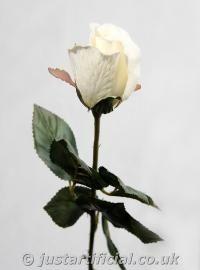 Artificial Silk Rose Single Stem