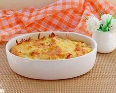 Casserole of cauliflower and chicken. Poultry, Mashed Potatoes, Cauliflower, Macaroni And Cheese, Casserole, Tart, Cooker, Turkey, Pudding