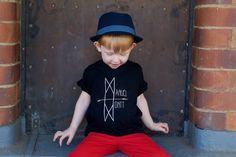 Manuel Montt Signature Logo Tee | 100% Organic Kidswear | SHOP: www.manuelmontt.com.au