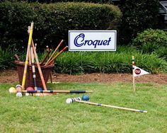 Croquet at the JA Kentucky Derby Party in Starkville, MS