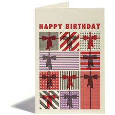 Greeting Cards - Birthday - Presents - Snow & Graham: Letterpress Stationery, Invitations, Greeting Cards and Calendars