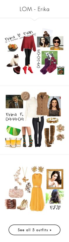 """LOM - Erika"" by followingchance ❤ liked on Polyvore featuring Woolrich, Urban Renewal, Old Navy, erika, Dita Von Teese, Duro Olowu, Fat Face, Banana Republic, Michael Antonio and Tinley Road"