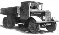 Engines of the Red Army in WW2 - YaG-10, 8-ton, 6x4, Cargo Truck