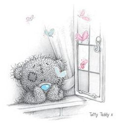 #Tatty Teddy: Look out the window
