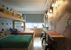 Decoração: Um quarto para três irmãos - Bagagem de MãeBagagem de Mãe