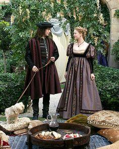 The Borgias costumes Italian Renaissance Dress, Costume Renaissance, Renaissance Mode, Renaissance Dresses, Medieval Costume, Renaissance Fashion, Los Borgia, Lucrezia Borgia, The Borgias