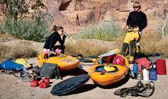 """In this episode of Virtual Coach, Erik Boomer demonstrates how to pack your multi-day kayak. Watch """"How To: Self-Support"""" at Canoe and Kayak magazine online."""
