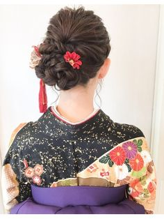 Hair Arrange, Cute Box, Yukata, Perm, Girl Hairstyles, Marie, Salons, Hair Makeup, Hair Accessories